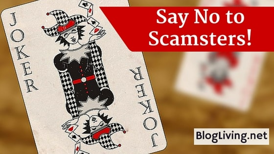 Say No to Scamsters!