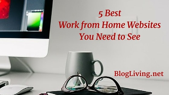 5 Best Work from Home Websites