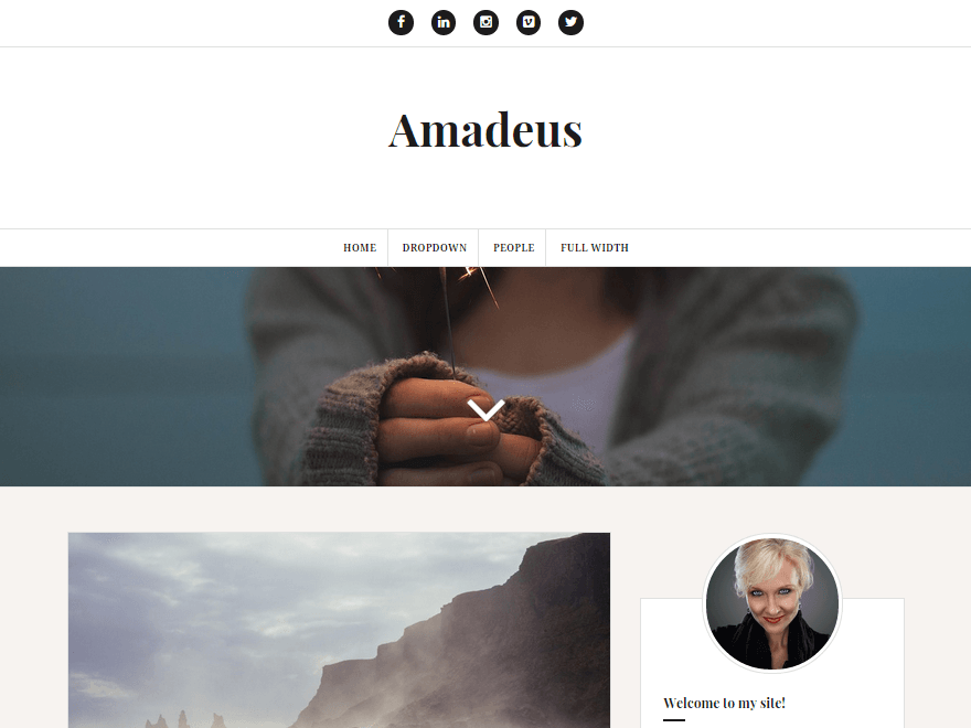 WordPress Theme for a Blog