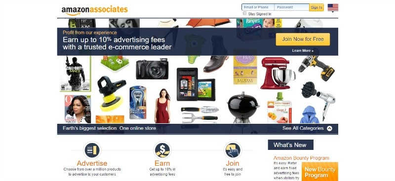 what are the best affiliate programs Amazon-min