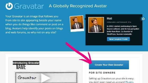 How to Create a Gravatar