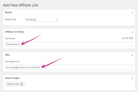 Cloak Affiliate Links