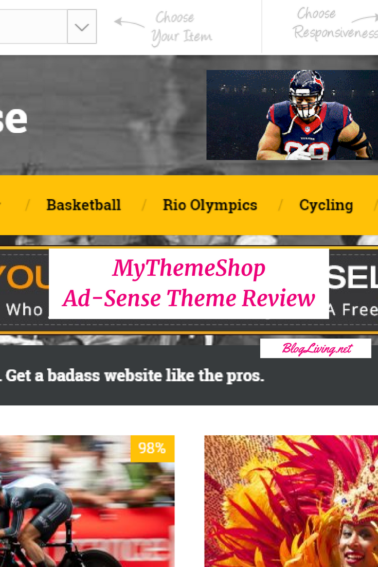 MyThemeShop Ad-Sense Theme Review