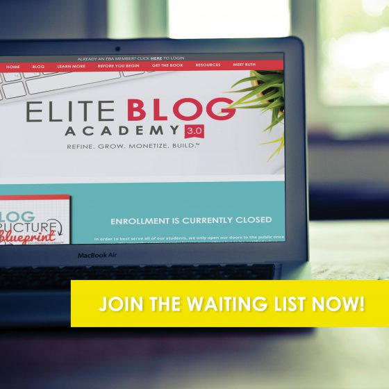 Elite Blog Academy Join The Waiting List