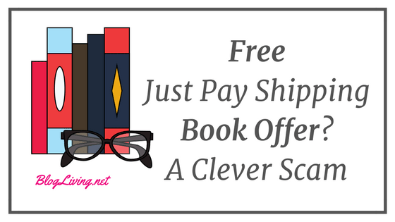 Free Just Pay Shipping Book Offer? A Clever Scam